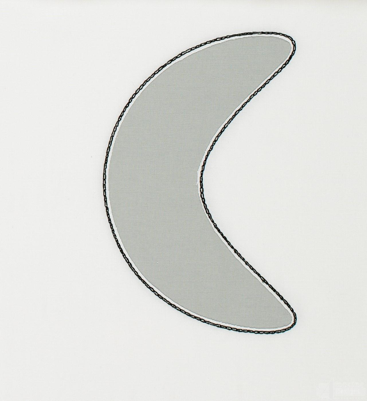 Boomerang reverse applique embroidery design