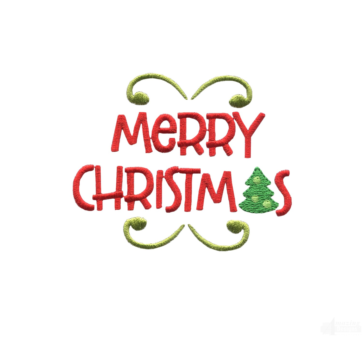 merry christmas words cuppa christmas embroidery design
