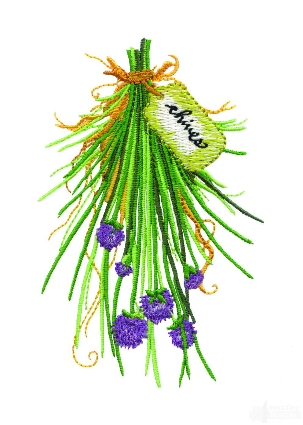 Herb garden embroidery design collection for Garden embroidery designs free