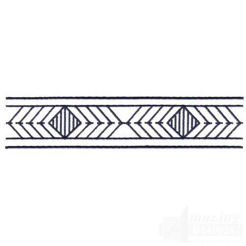 diamond echo border