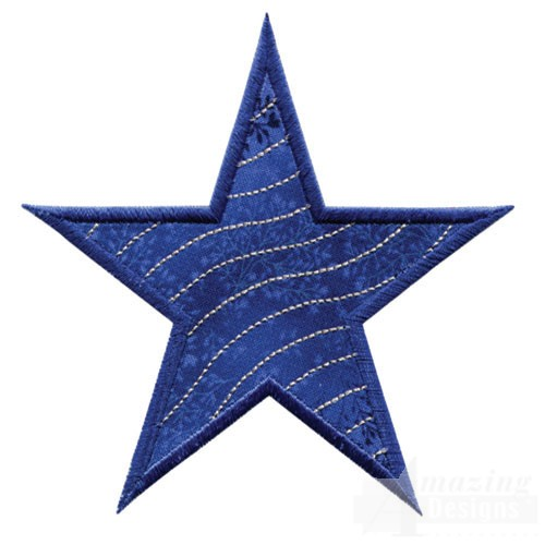 Star Quilt Embroidery Design : Applique Quilting Stars Collection