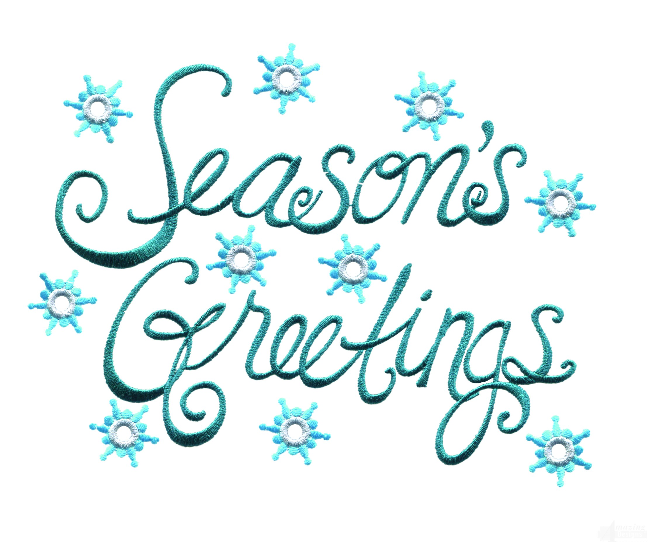 Bright seasons greetings embroidery design m4hsunfo