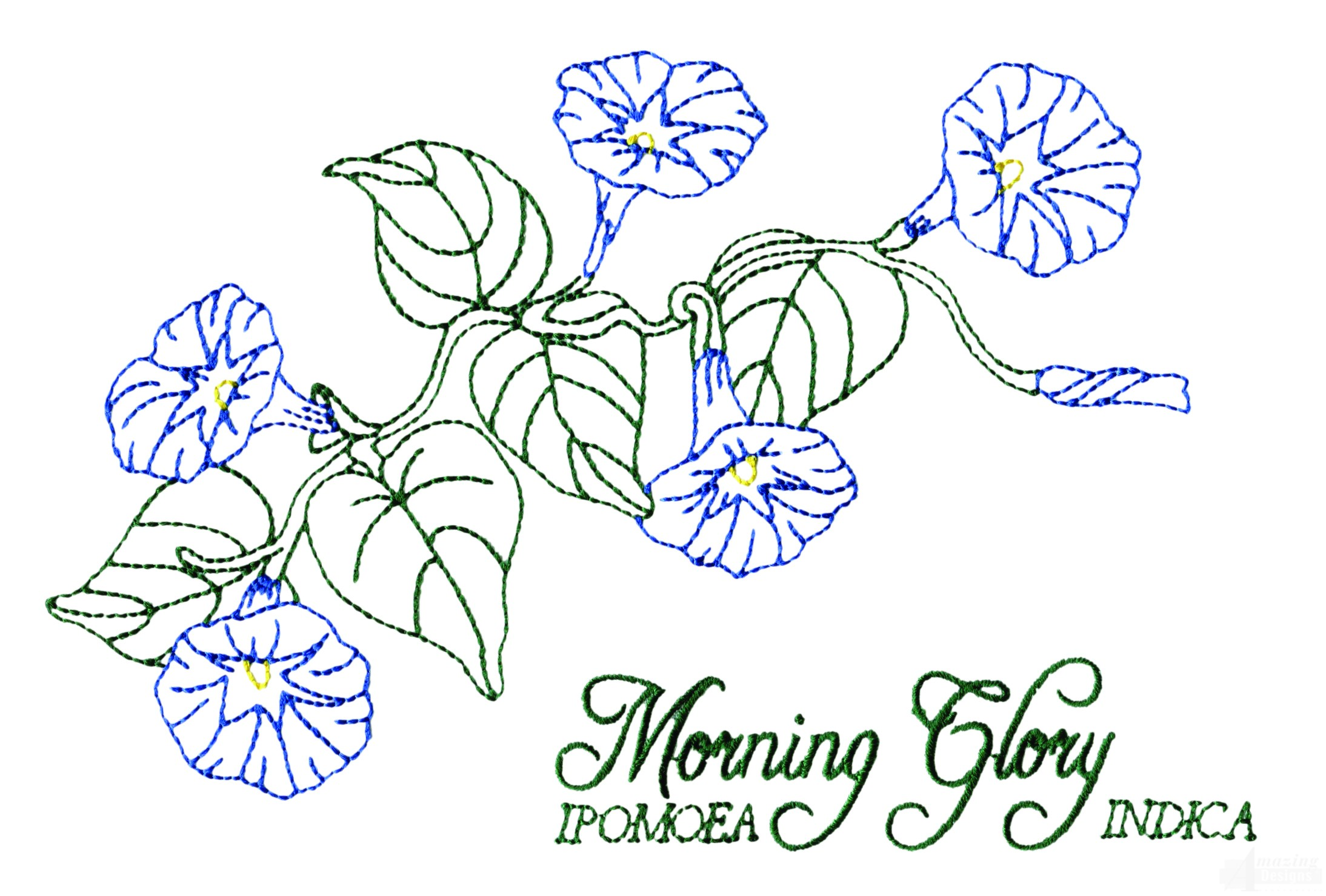 Glory home design inc large morning embroidery