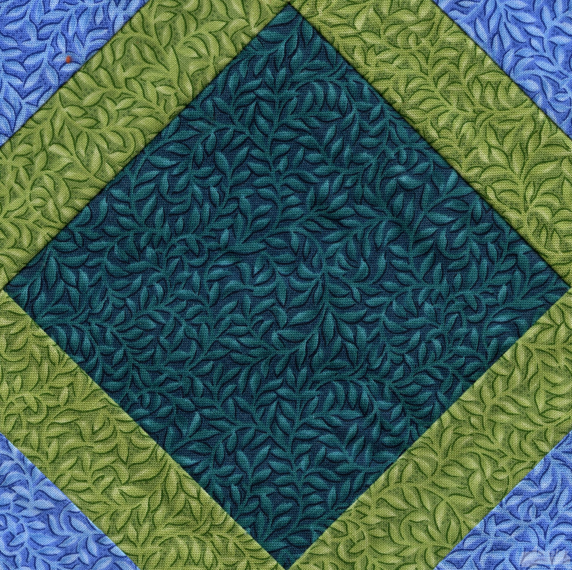 Embroidery Quilt Block Designs : Fancy Square Quilt Block Embroidery Design