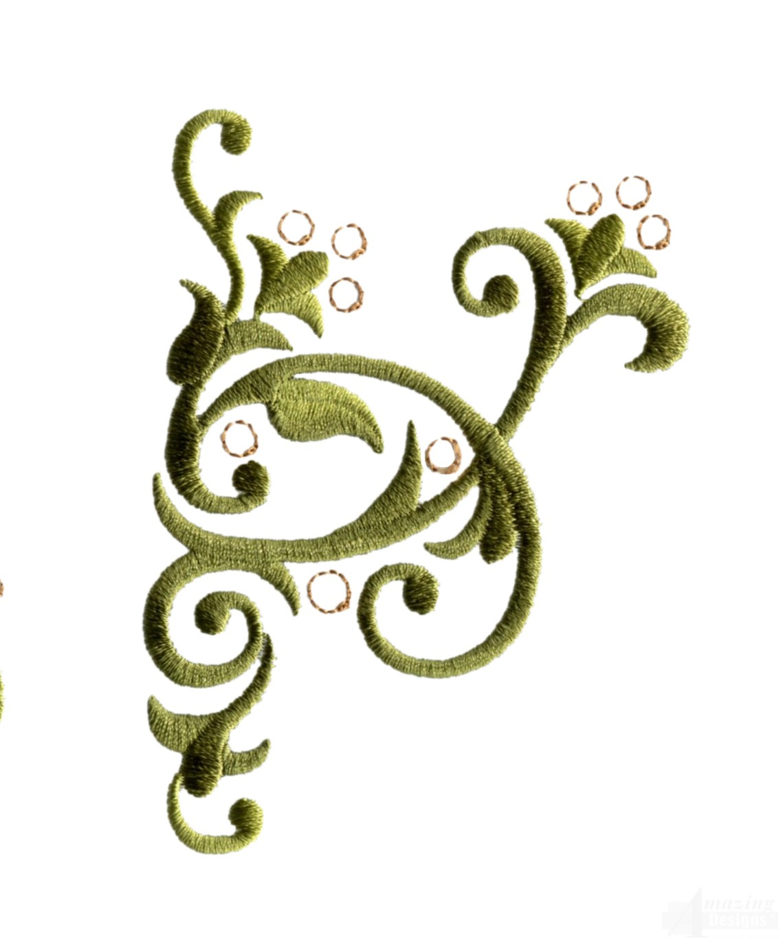 bsb127 baroque swirl 27 embroidery design