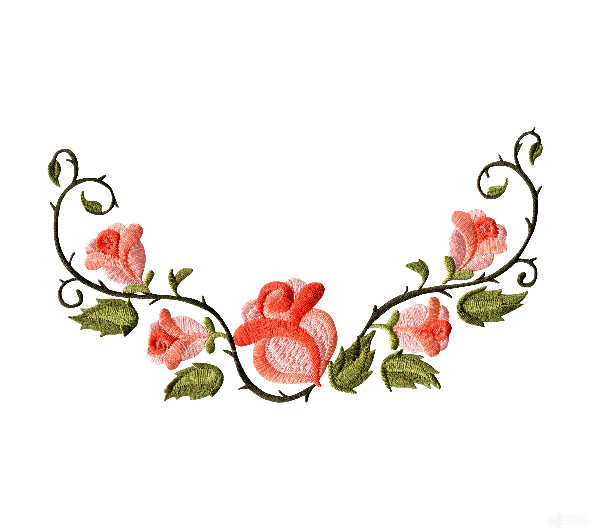 Free Floral Machine Embroidery Designs