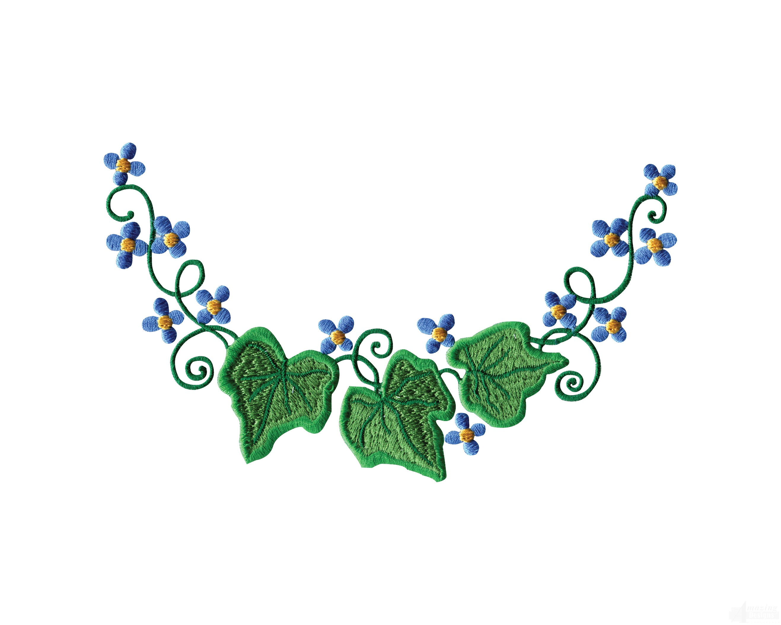 All Seasons Floral Borders Embroidery Design Collection