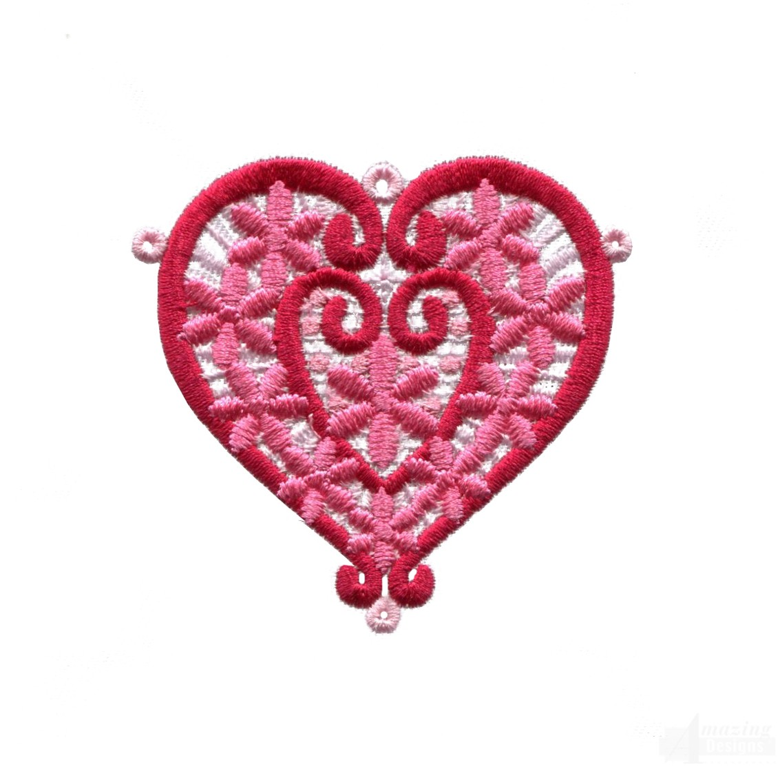 Lhrts heart embroidery design