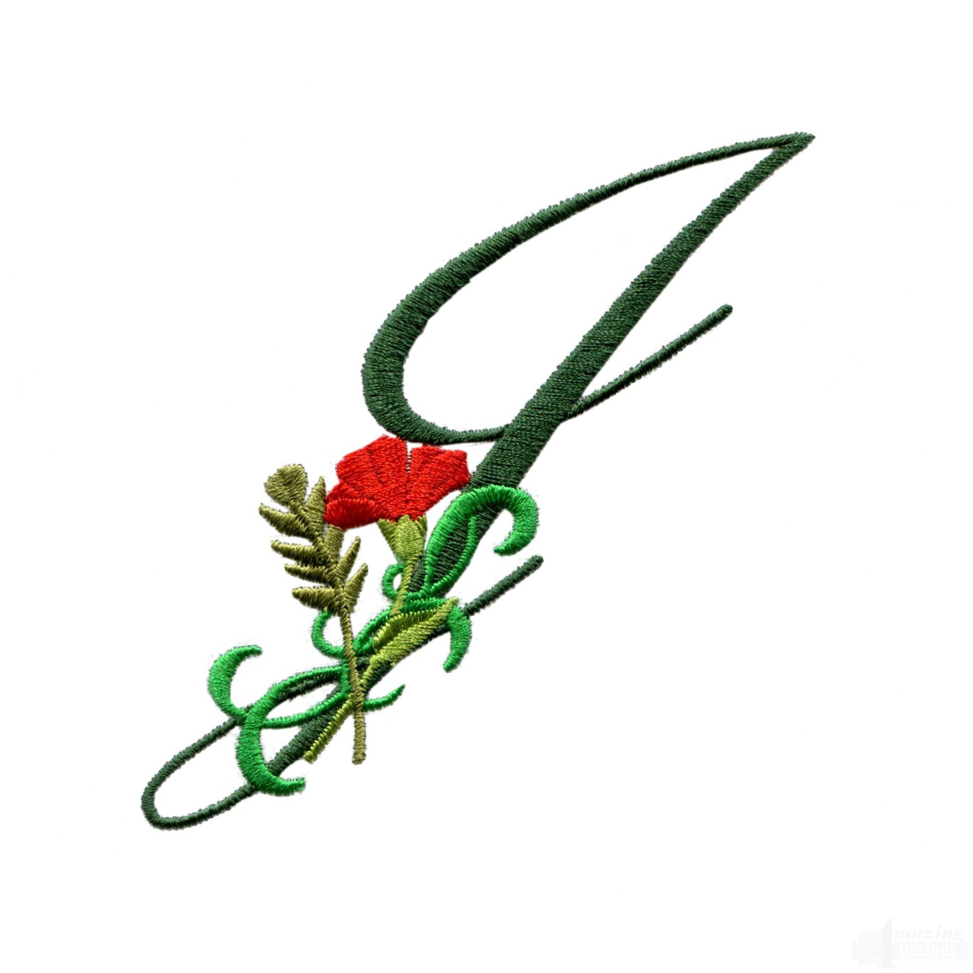 J Letter Design Letter J Floral...