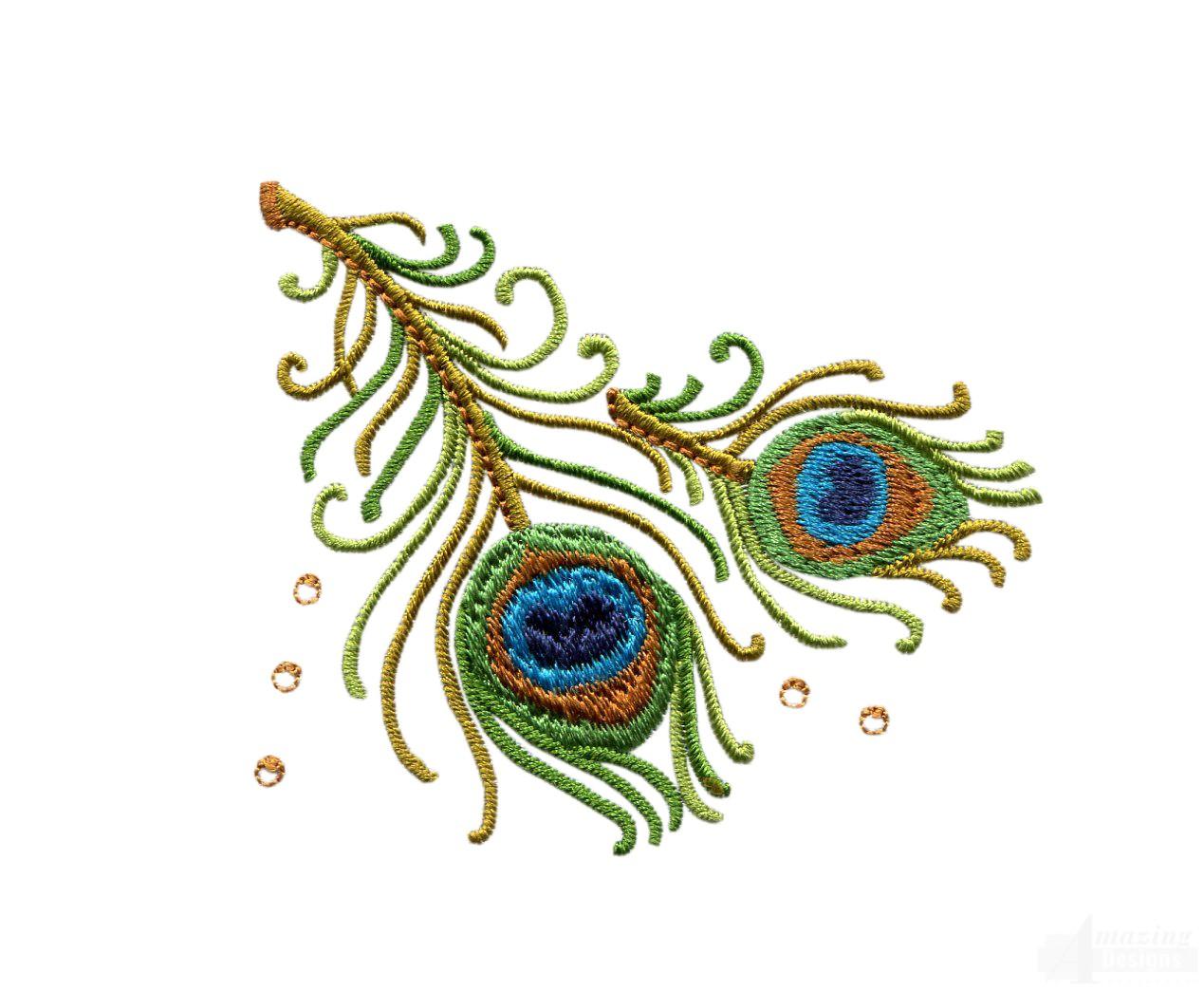Tokyo Bunka Shishu 456 Peacock Japanese Punch Embroidery Kit