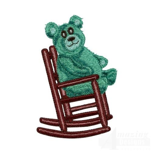 Bear In Rocking Chair