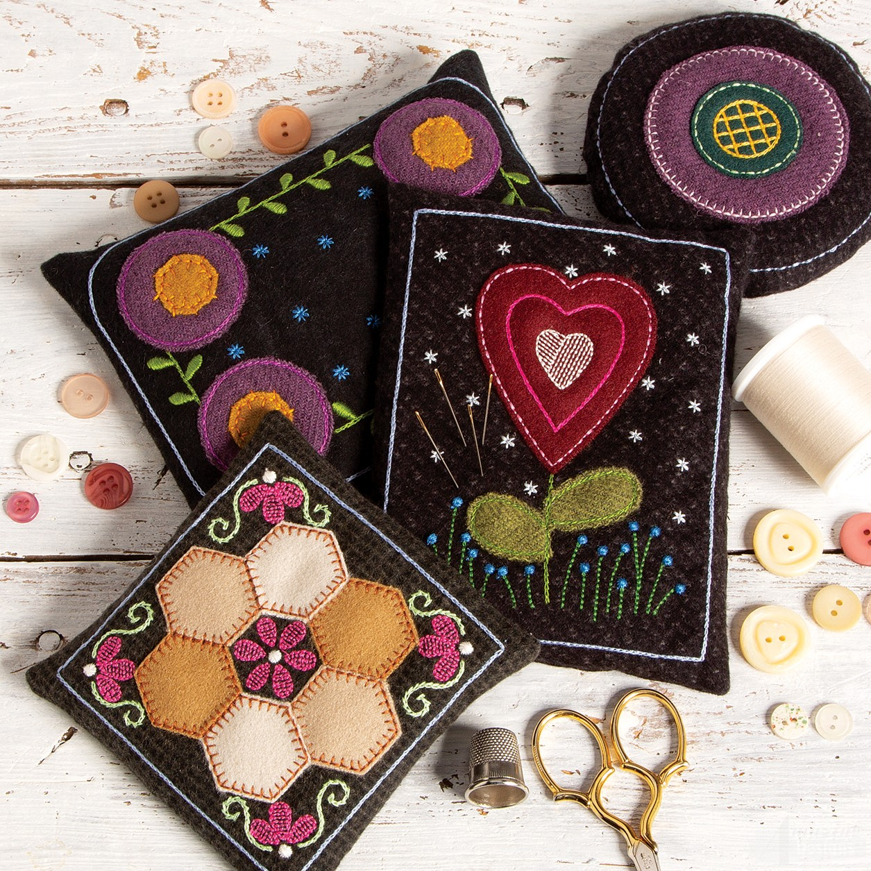 Diy Wooly Pincushions Amazing Designs Collection