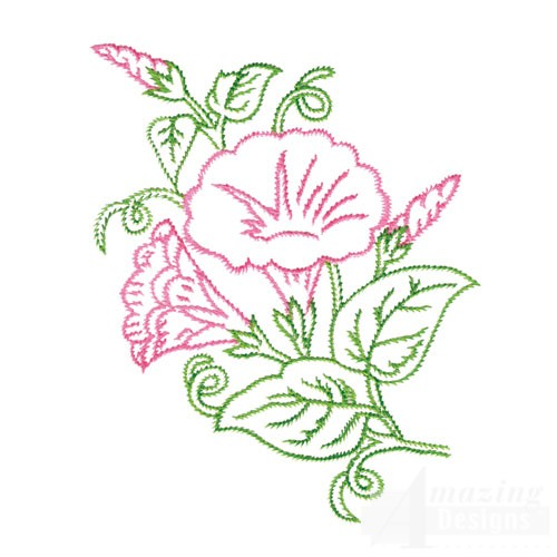 Botanical Outlines I Collection