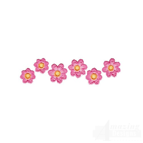 Image result for pink flower border design