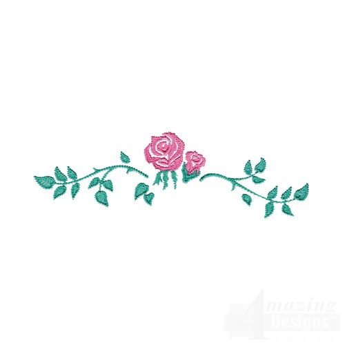 Pink Rose Border Design | Joy Studio Design Gallery - Best ...