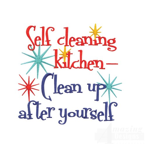 free clipart kitchen cleaning - photo #23
