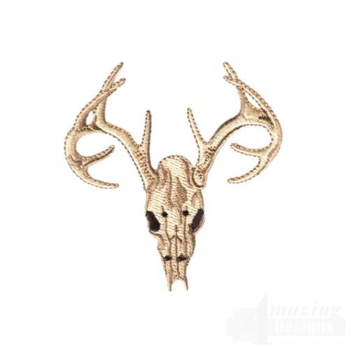 Deer skull embroidery design best cars reviews