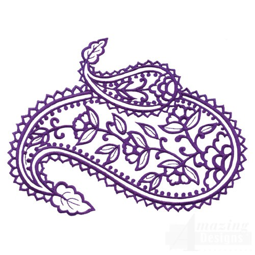 Paisley Outline