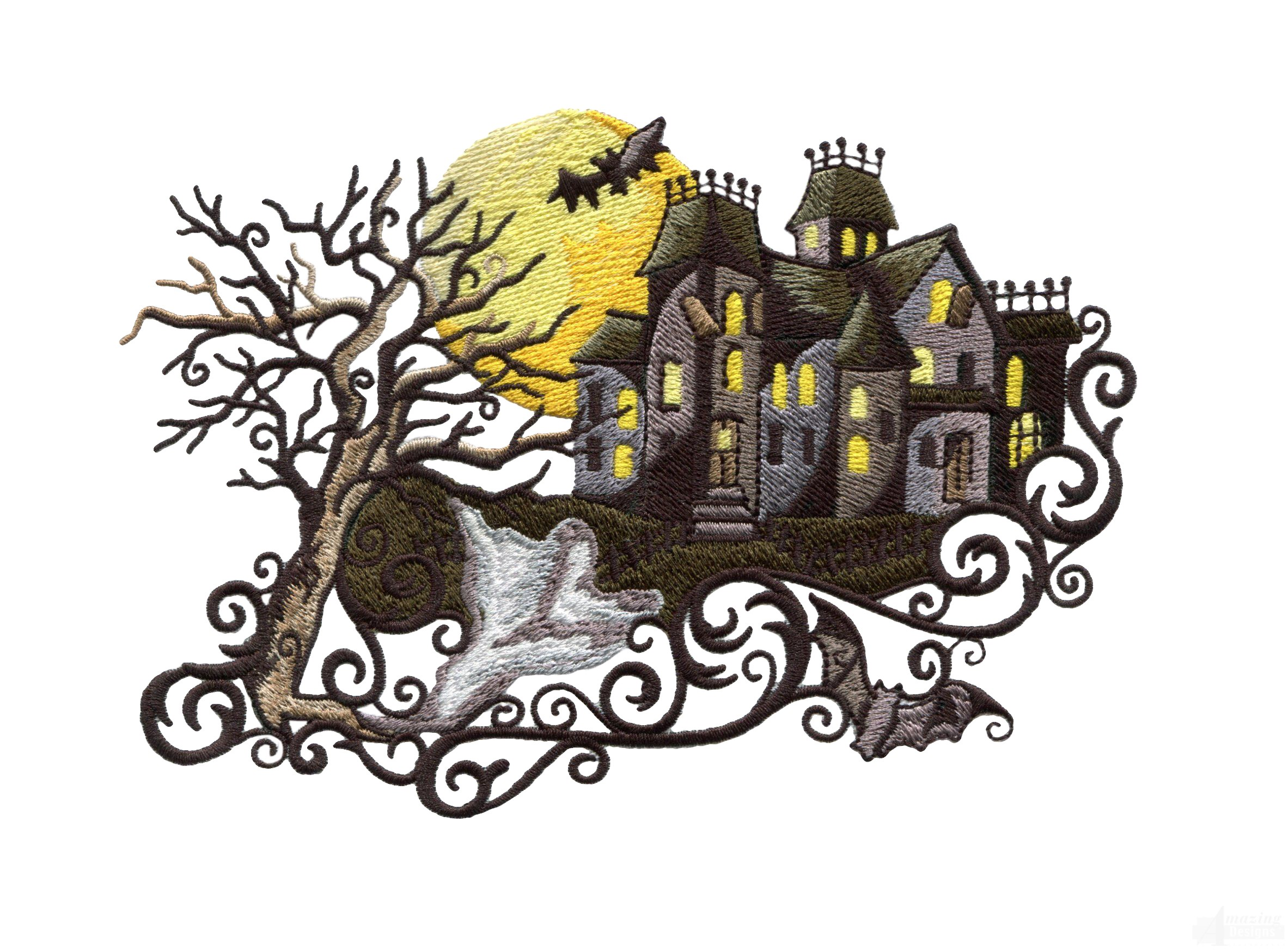 Swnbh bewitching halloween embroidery design