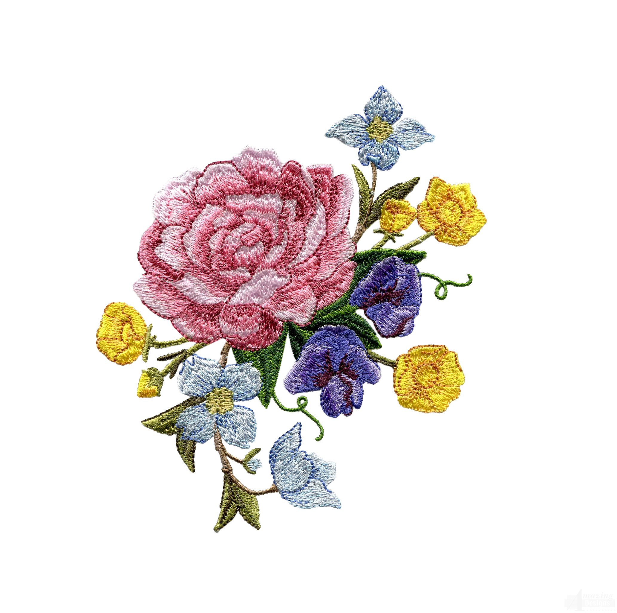 Swnsdf splendid days floral embroidery design