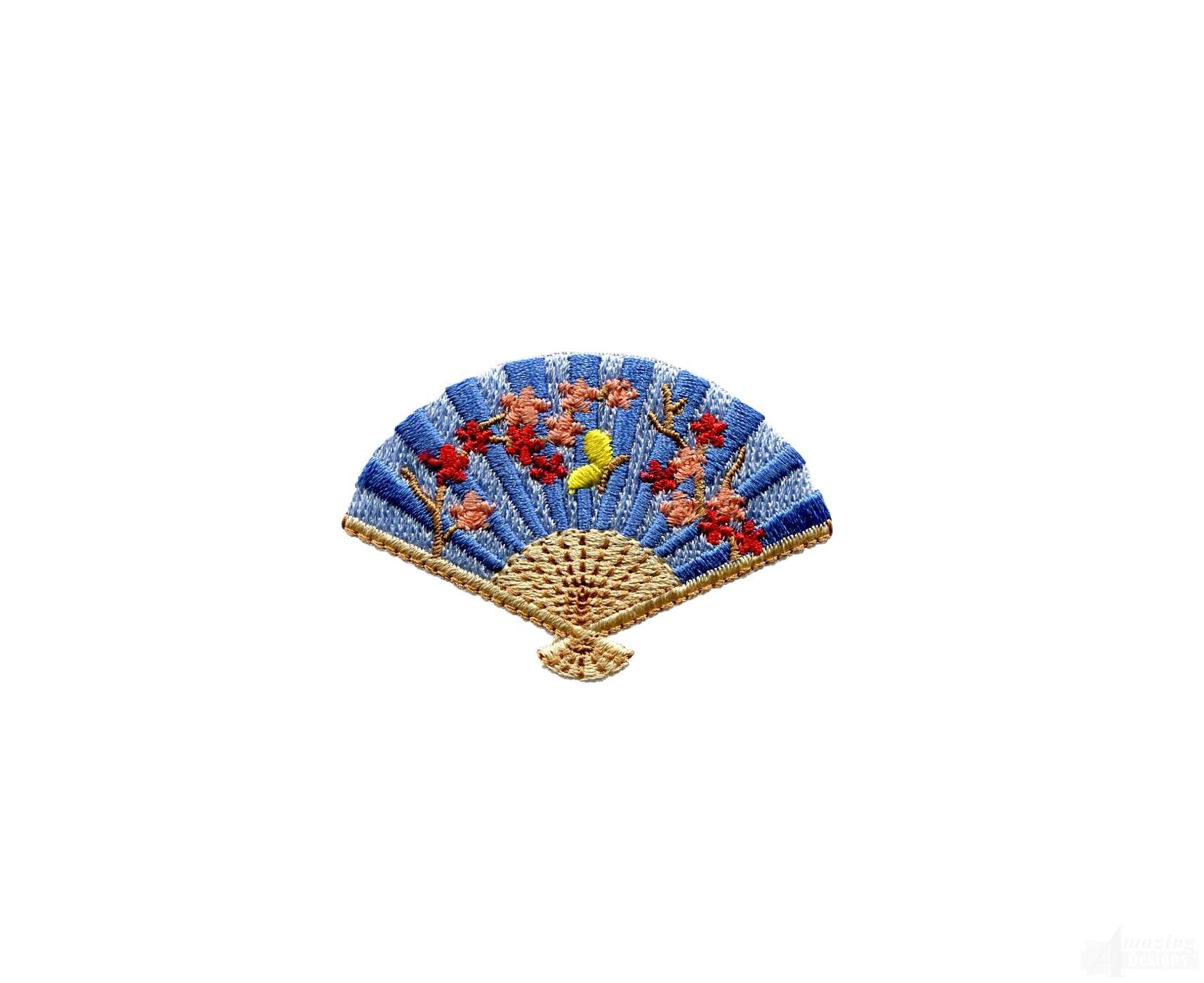 Swngg127 a geishas garden embroidery design for Garden embroidery designs