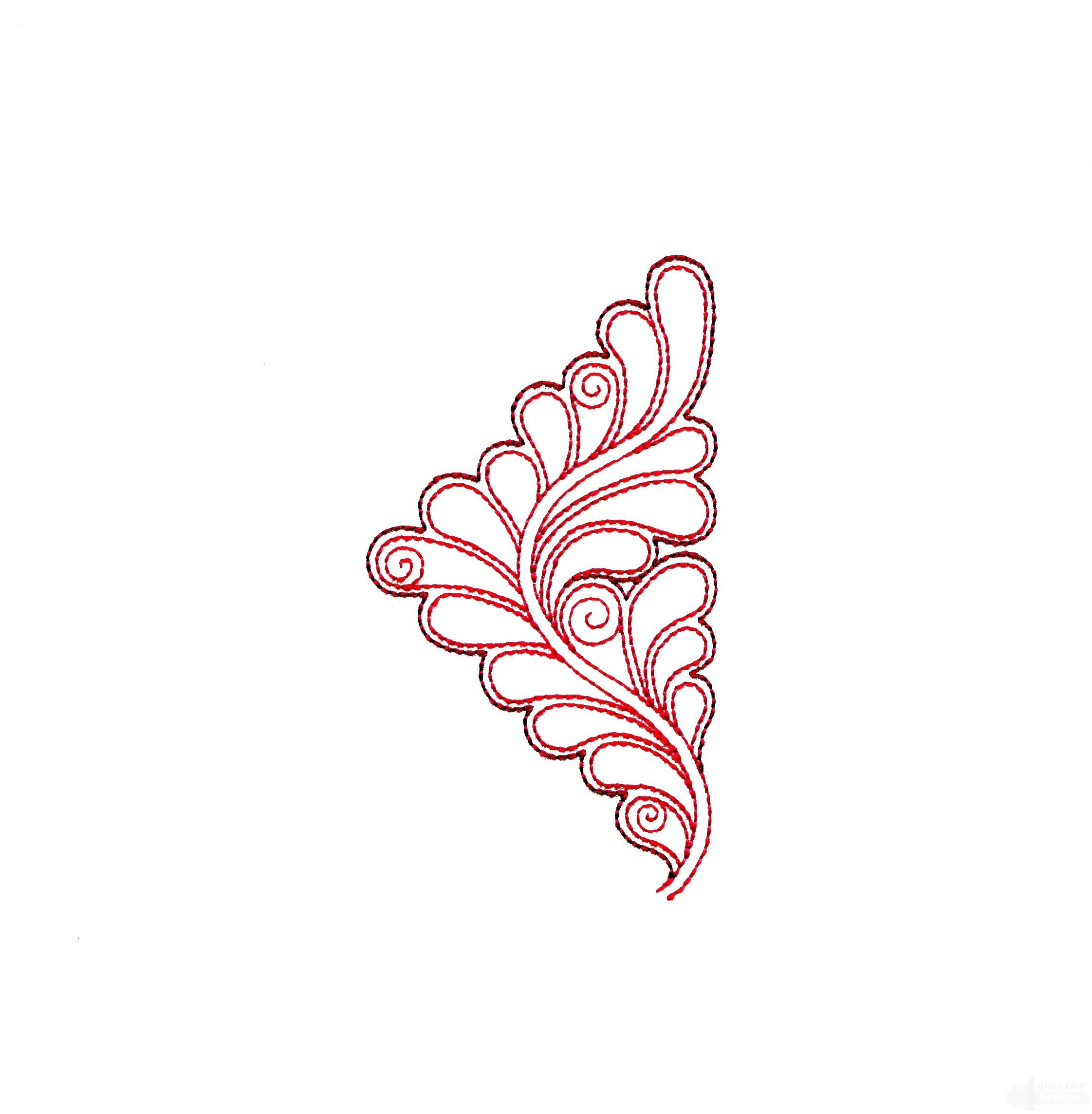 Rs111 Quilt Motif Embroidery Design