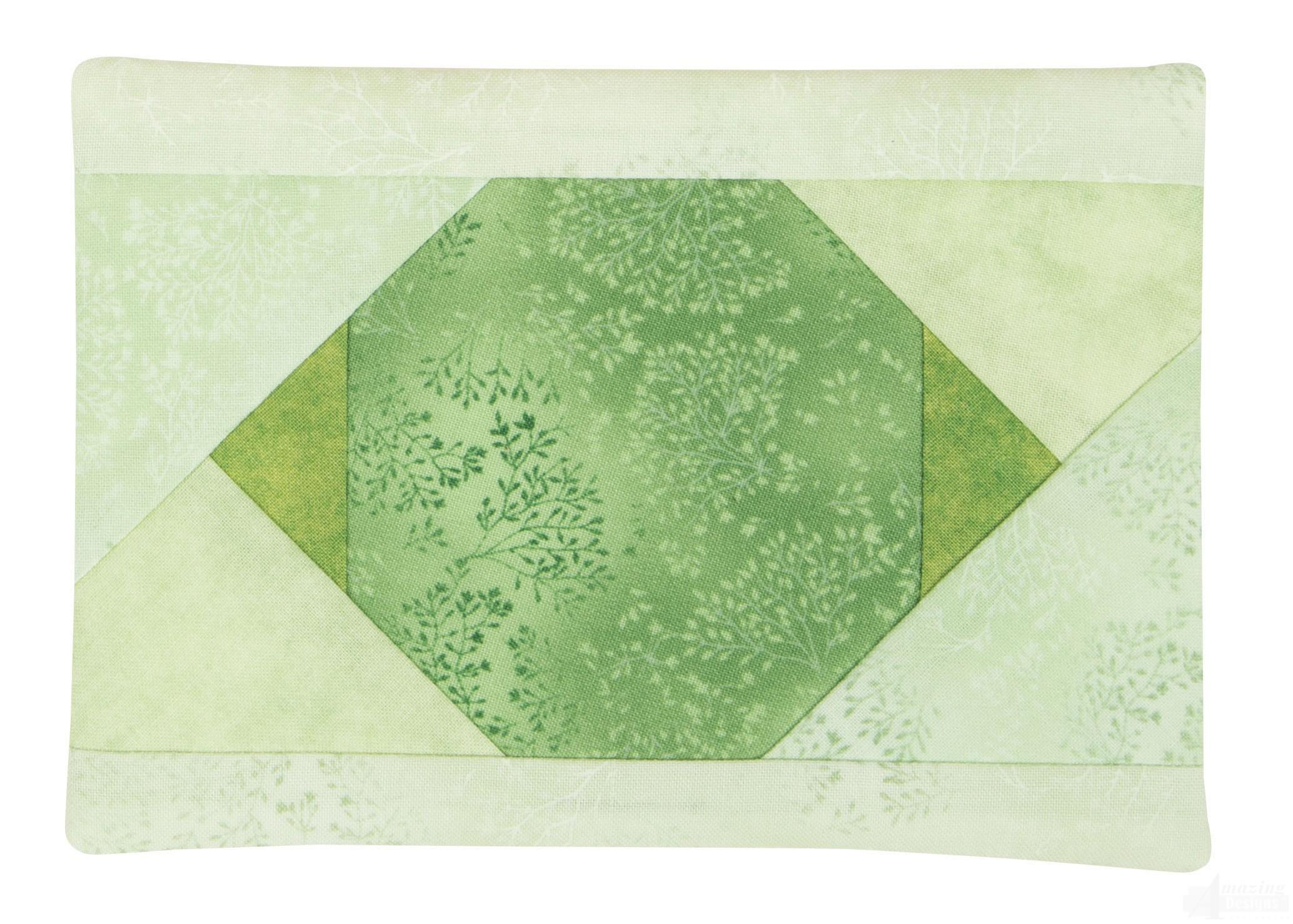 Mug rug 3 embroidery design
