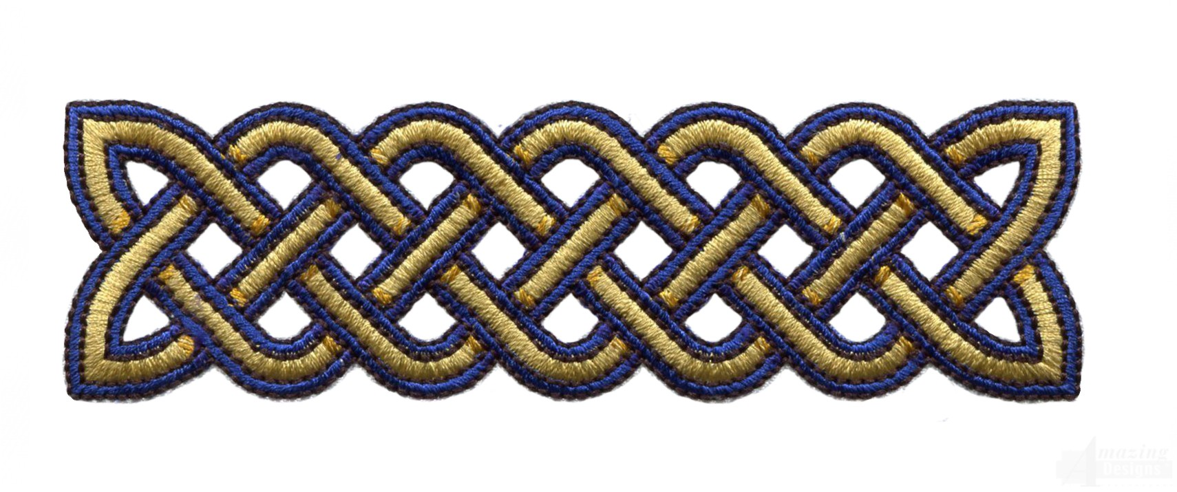 Rectangle Celtic Knot Embroidery Design