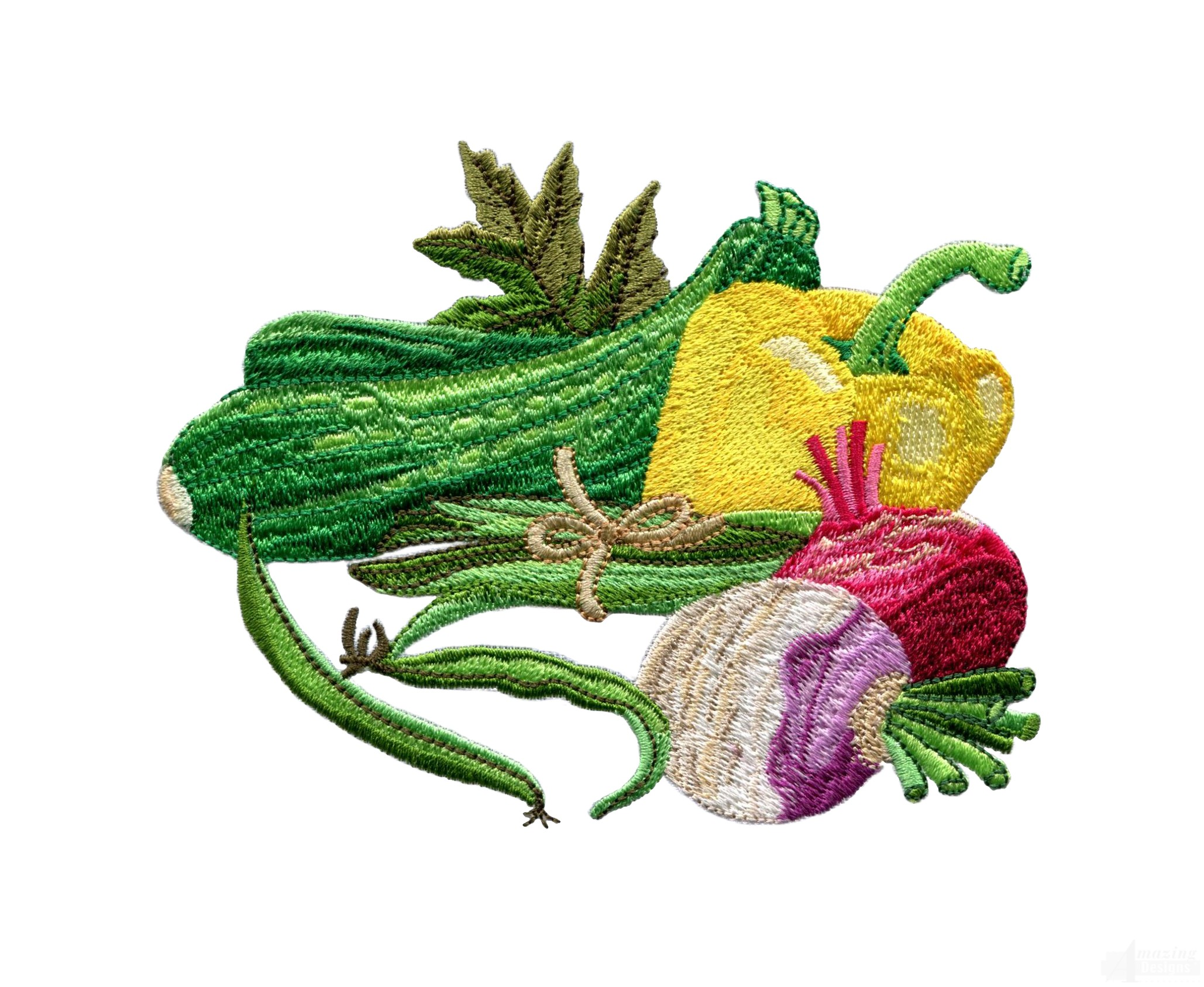 Garden assortment 4 embroidery design for Garden embroidery designs free