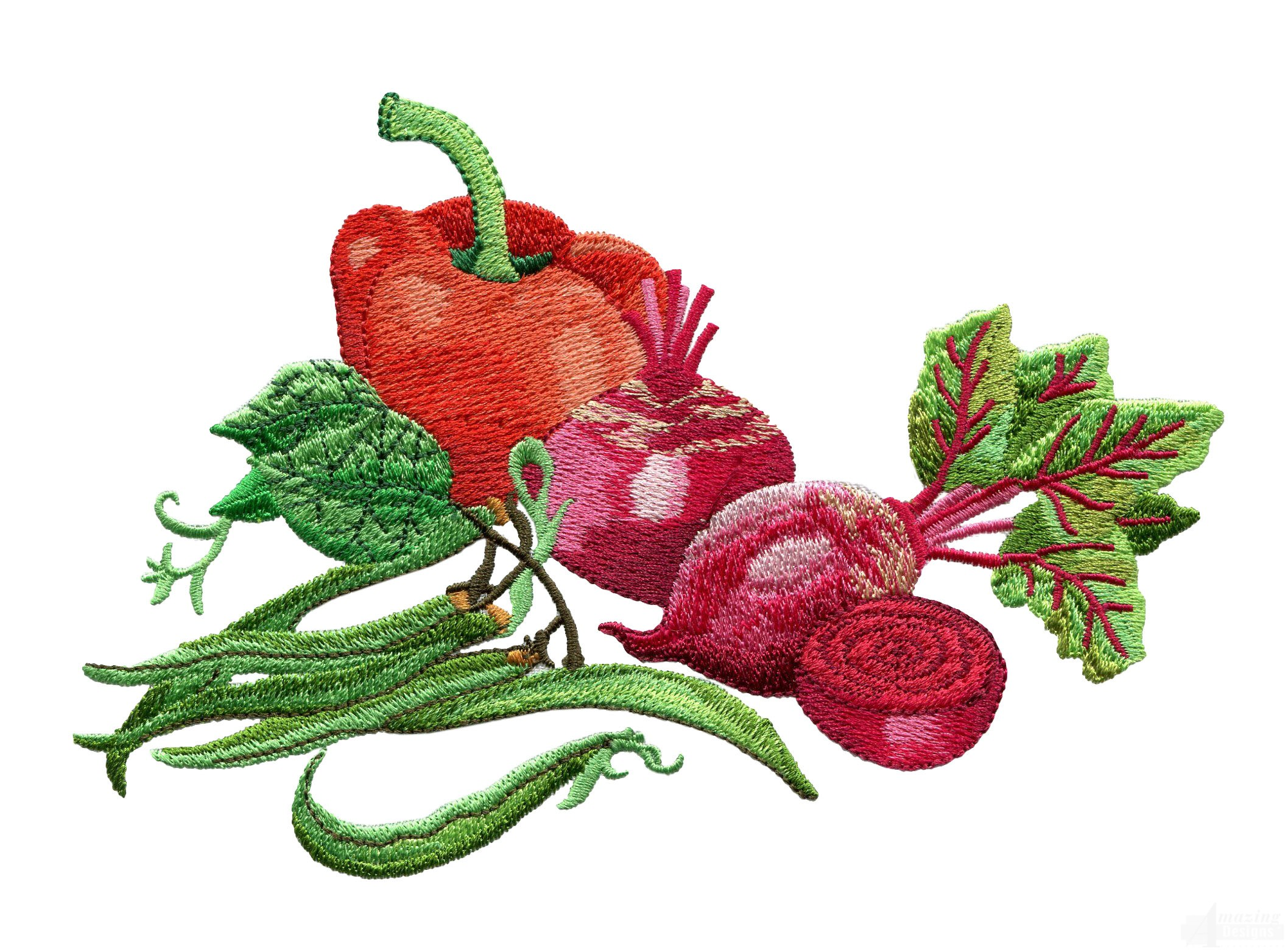 Garden assortment 7 embroidery design for Garden embroidery designs free