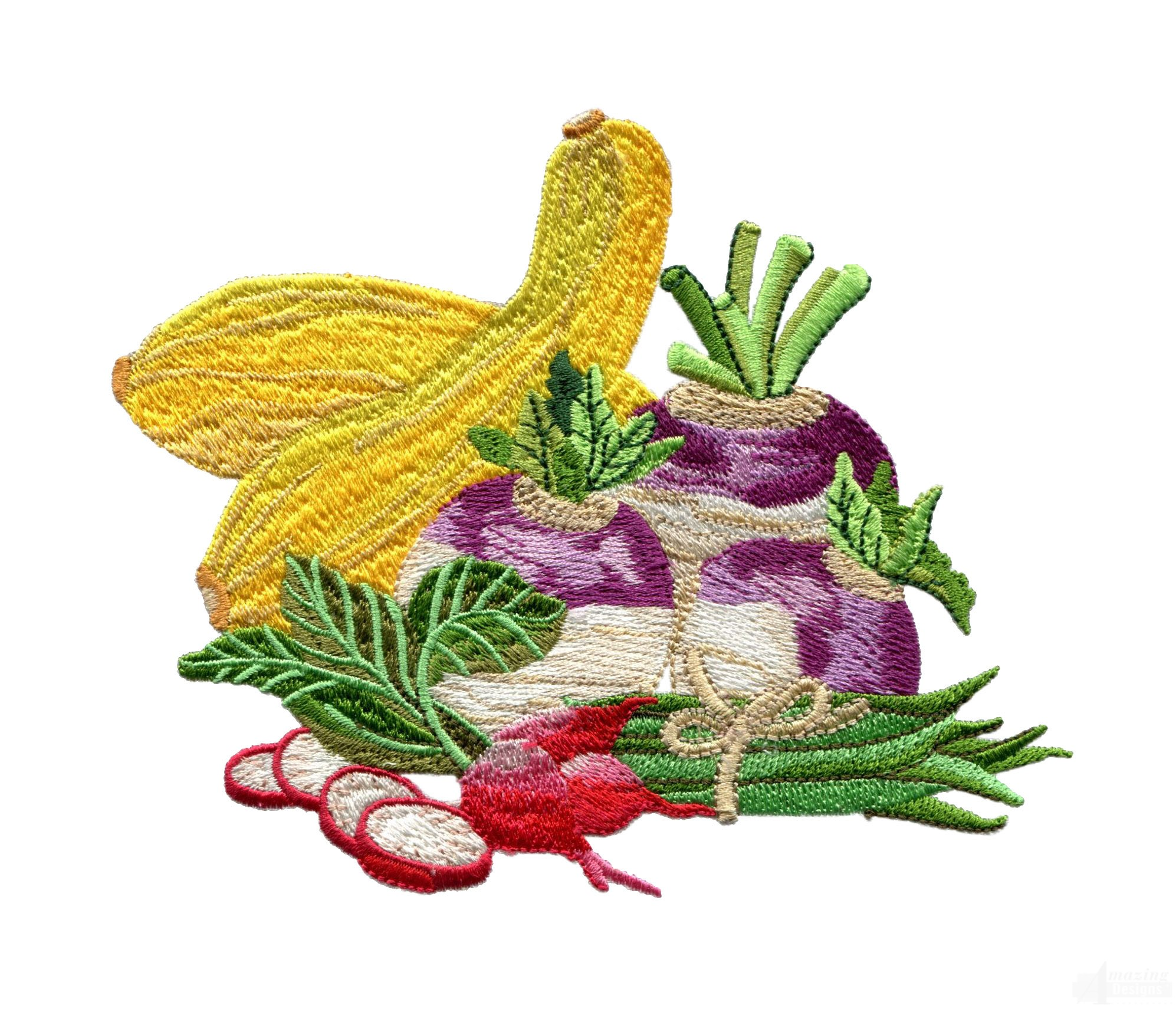 Garden assortment 8 embroidery design for Garden embroidery designs free