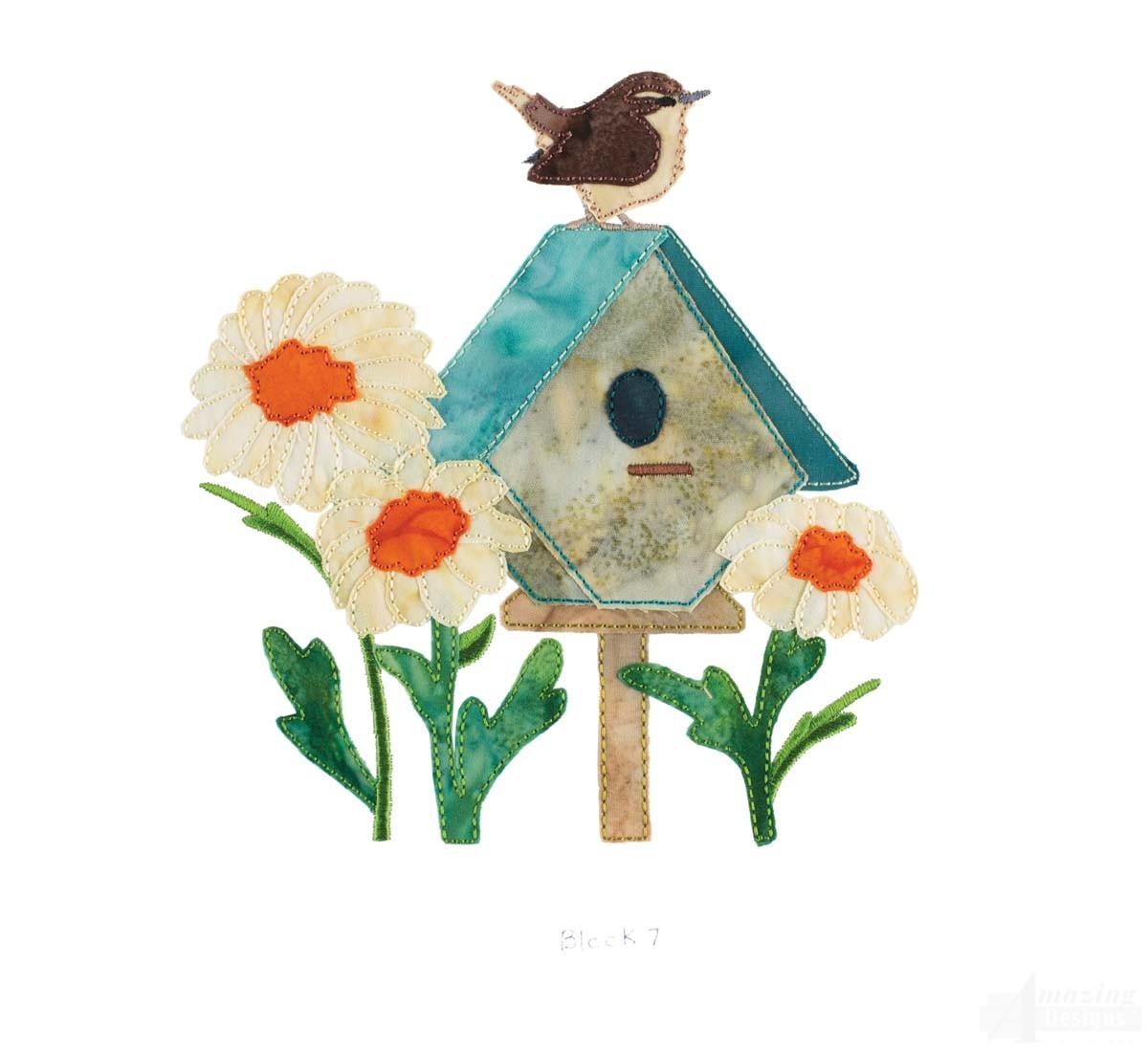 McKenna Ryans Home Tweet Home Embroidery Design 7