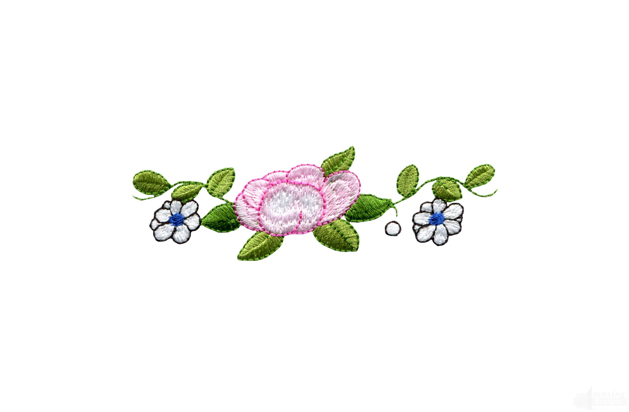 tm117 embroidery design - Decorative Flowers