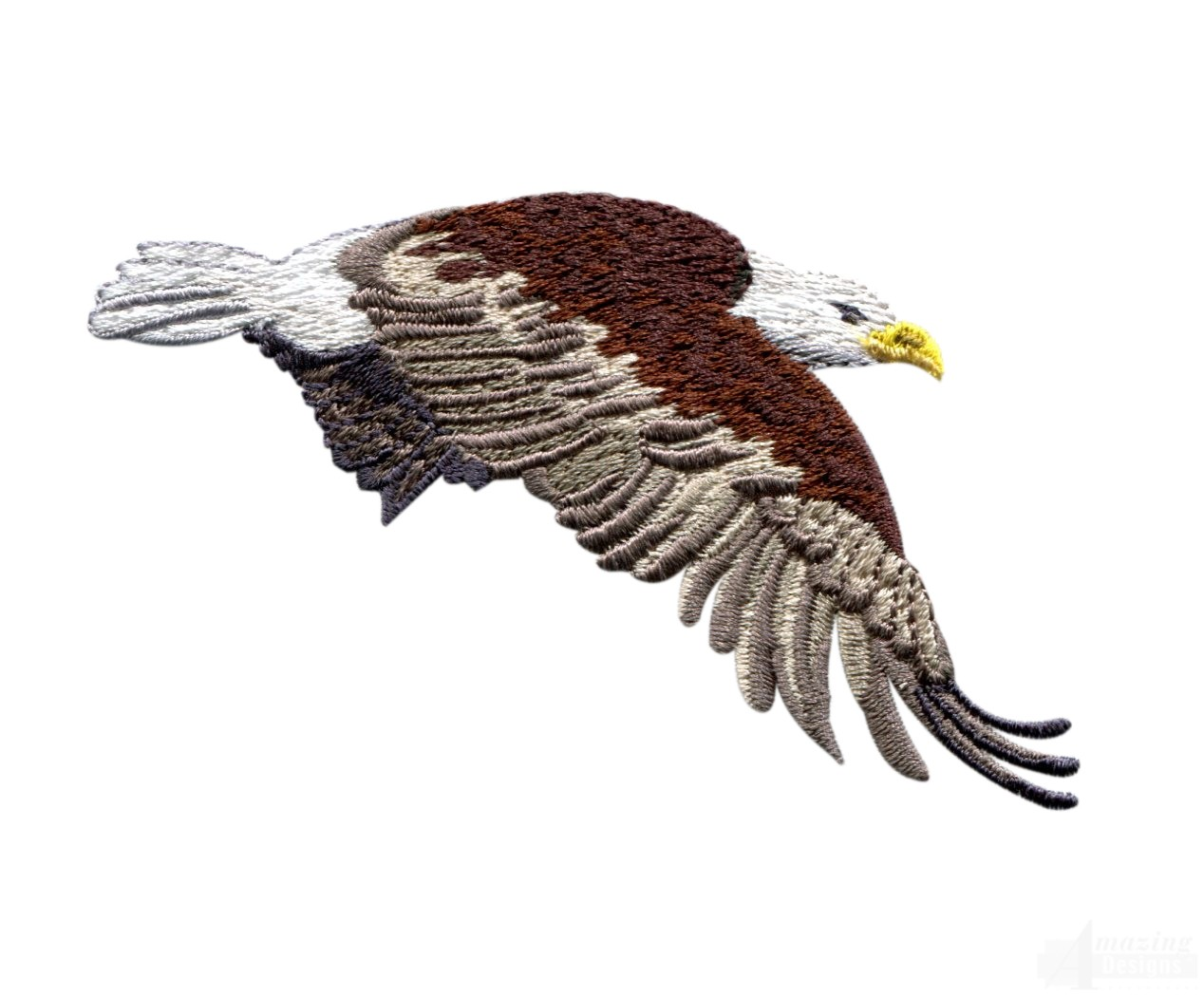 Flying Eagle 3 Embroidery Design