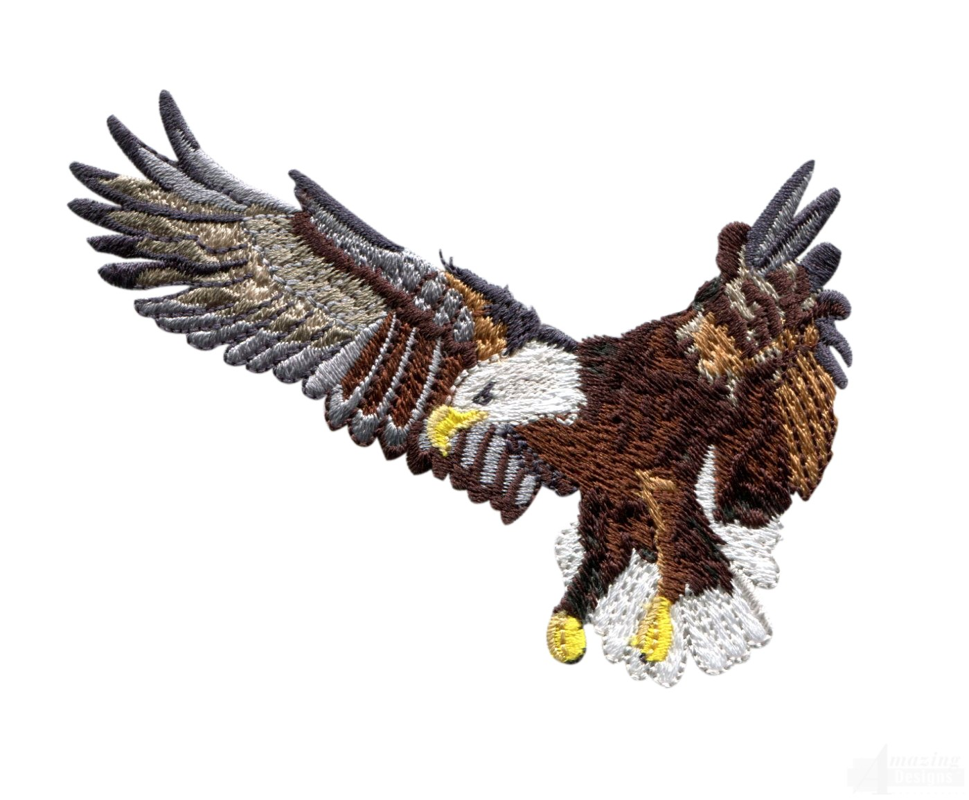 Flying Eagle 5 Embroidery Design