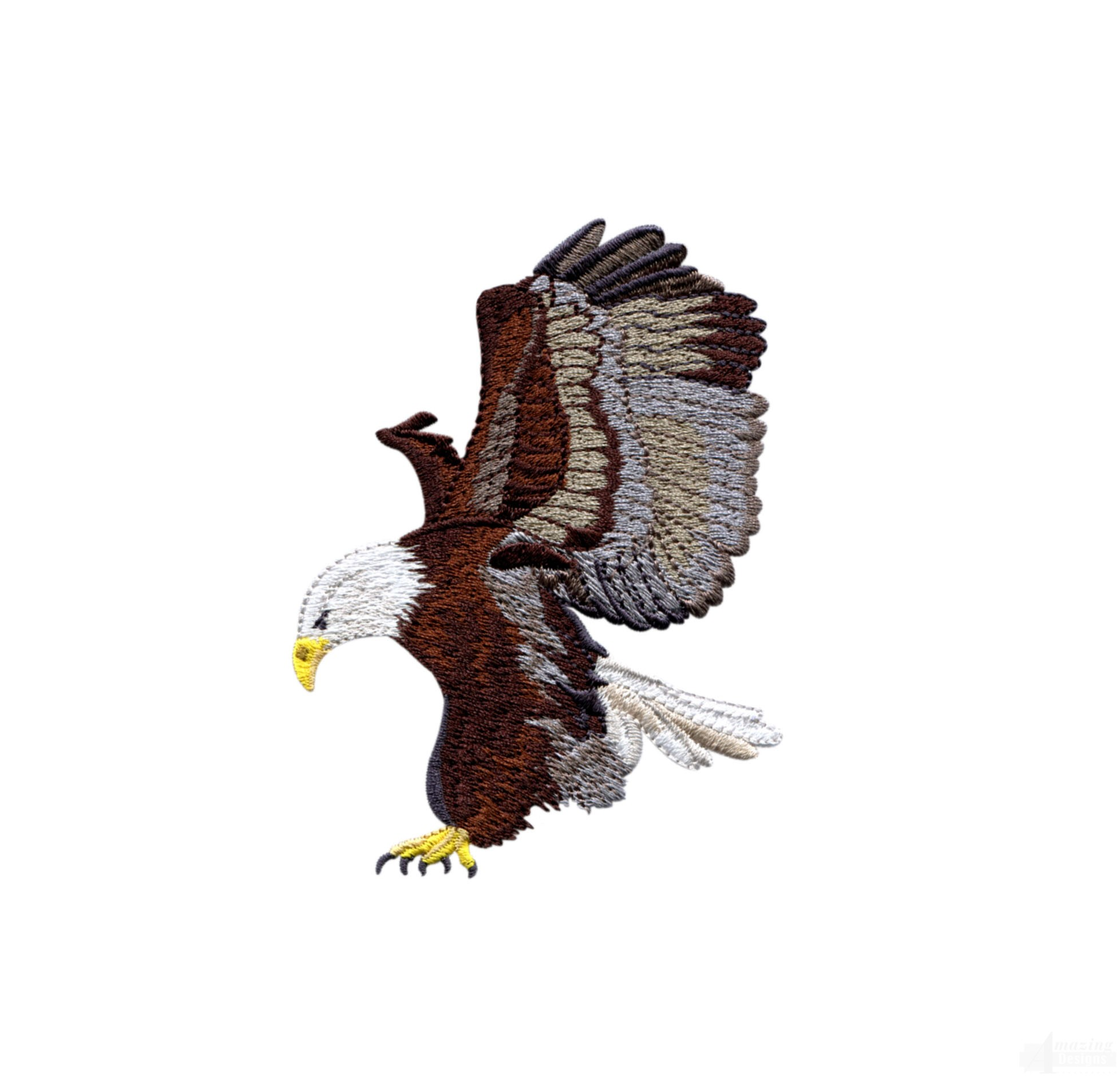 Flying Eagle 10 Embroidery Design
