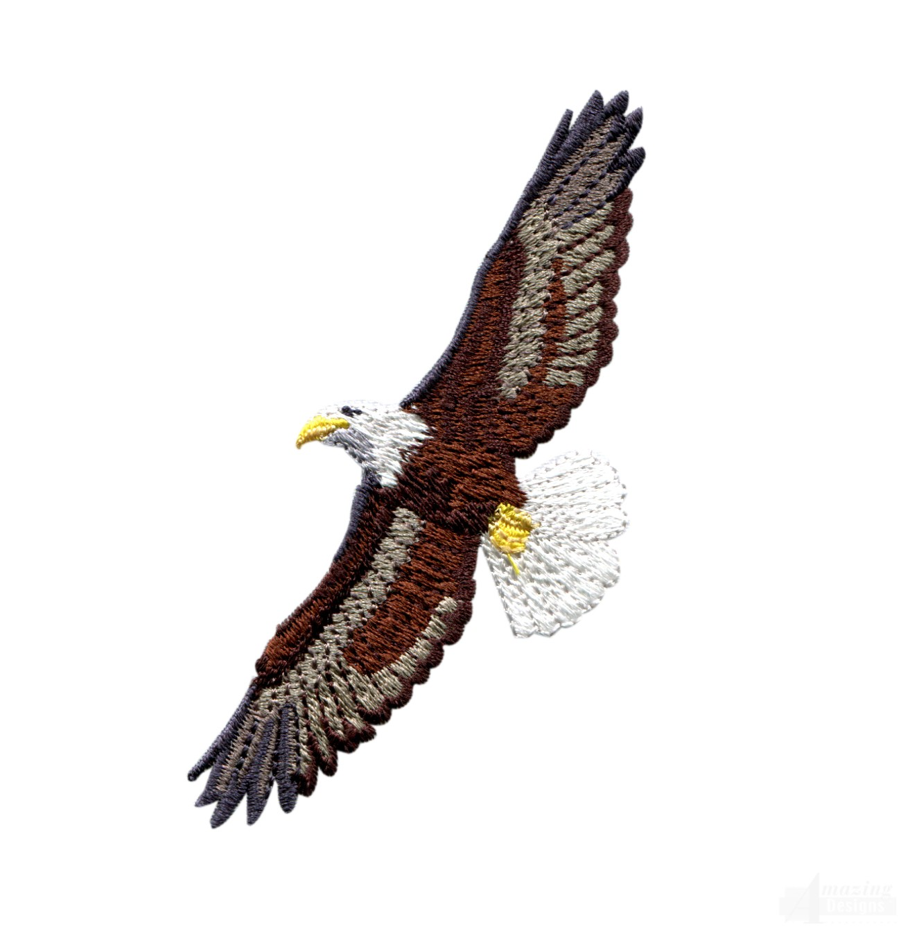 Flying Eagle 11 Embroidery Design