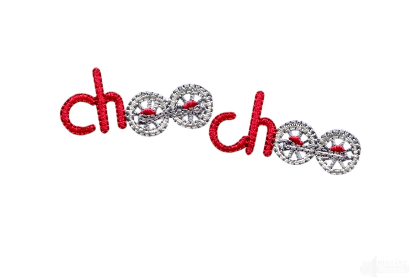 Choo words embroidery design