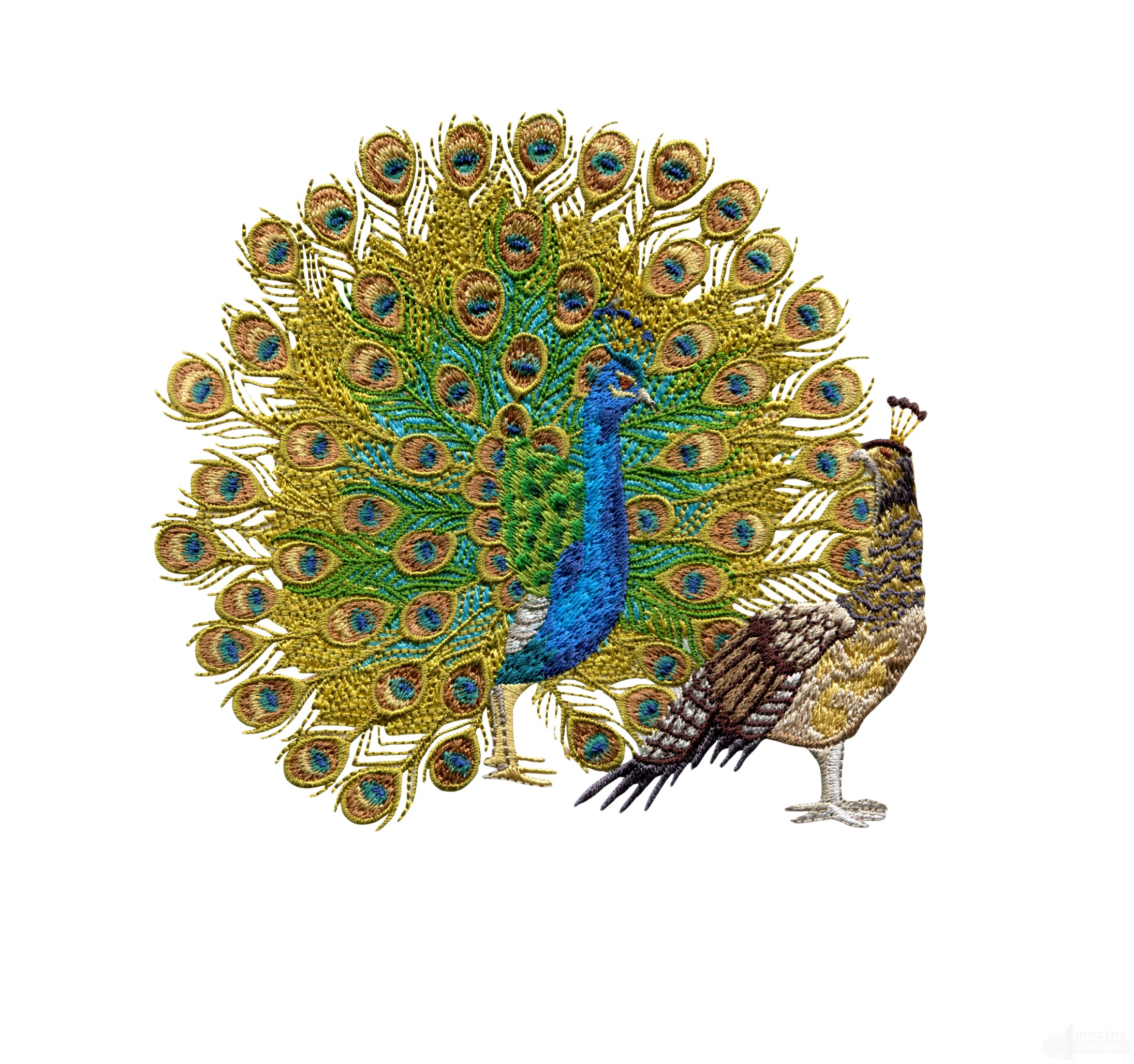 Peacock Embroidery Designs Hand Embroidery | Www.imgkid.com - The Image Kid Has It!