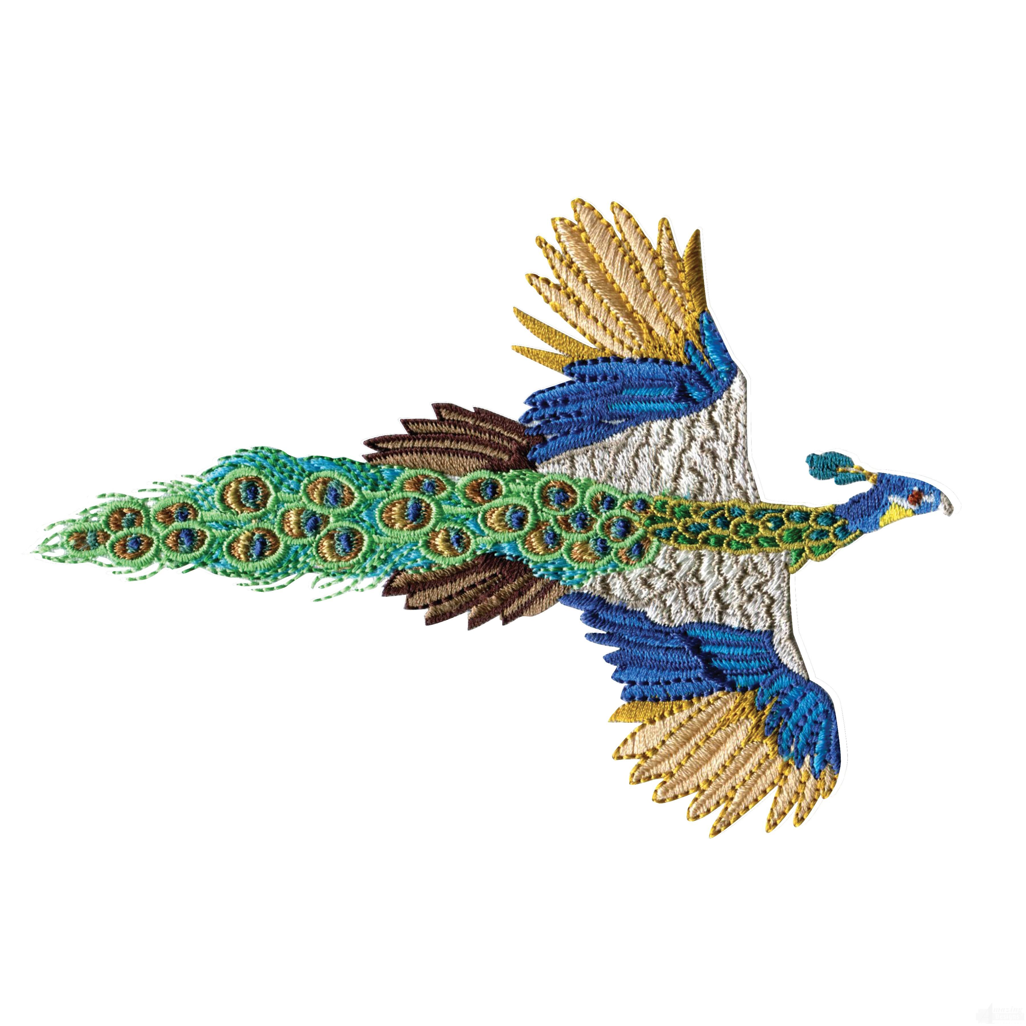 Swnpa143 Peacock Embroidery Design
