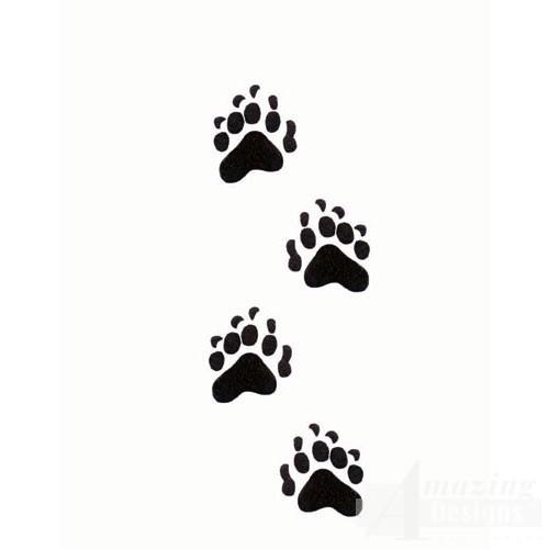 bear paw prints bear paw prints clip art free bear paw print clip art silhouette