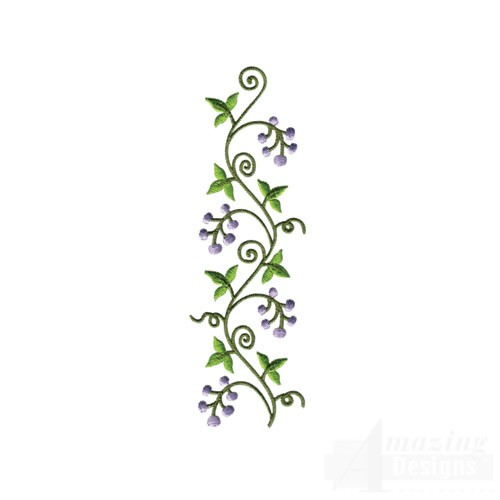 Vine Designs Art : Floral vine