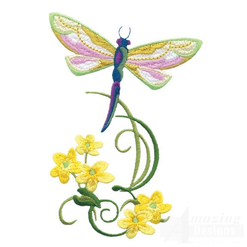 Dragonfly flowers coupon