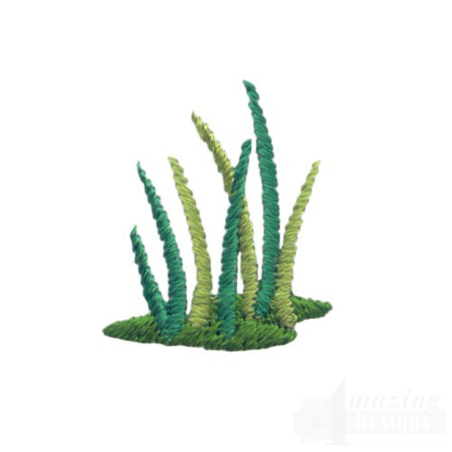 Patch Of Grass Embroidery Designs