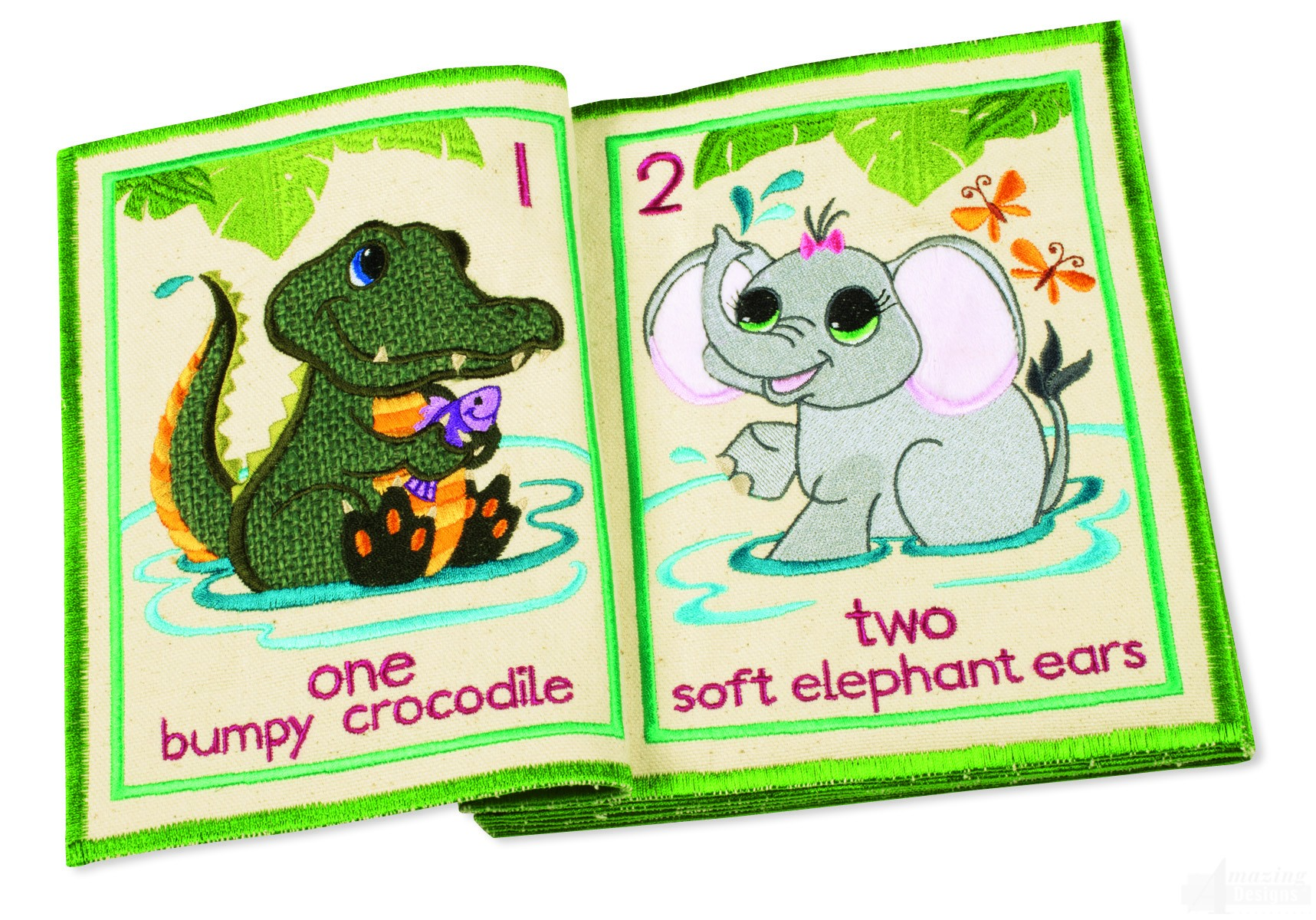 InTheHoop Counting Critters Quiet Book Collection