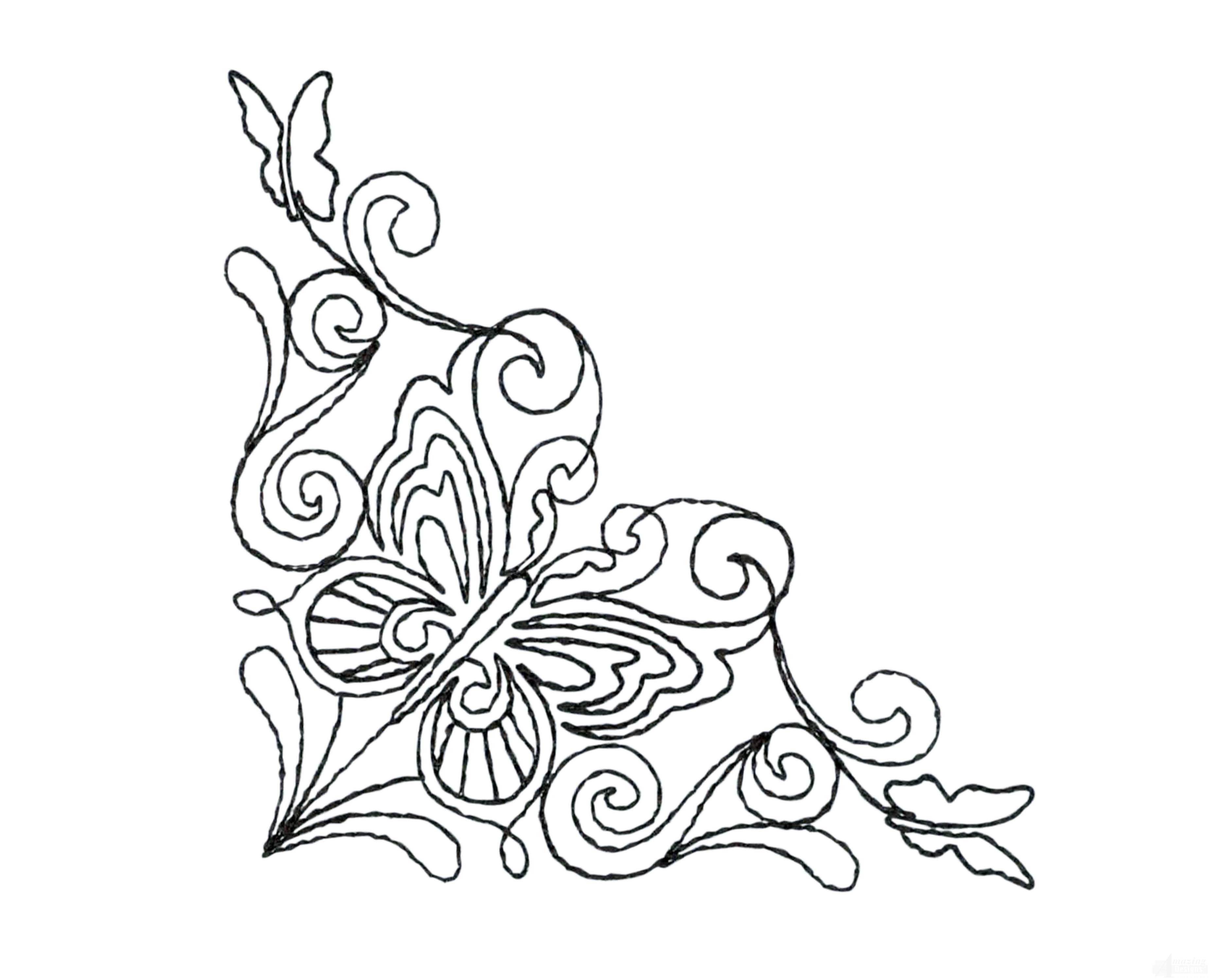 Quilting Outline Embroidery Designs ~ clie.info for .