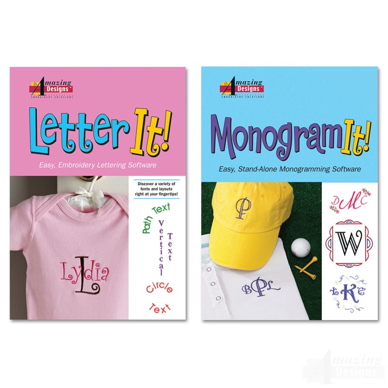 Letter It And Monogram It Combo