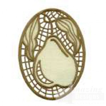 Cutwork Pear