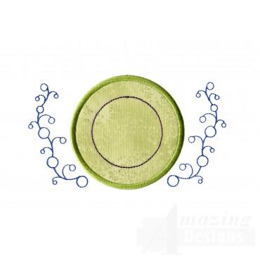 Applique Sprinkles 2 Embroidery Design