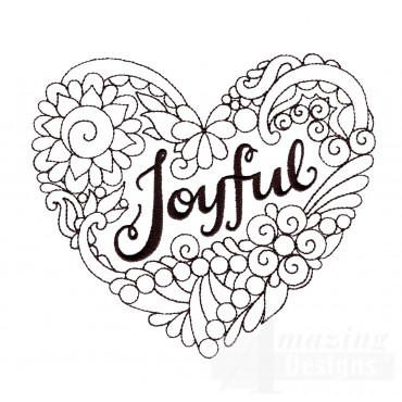 Joyful Embroidery Design